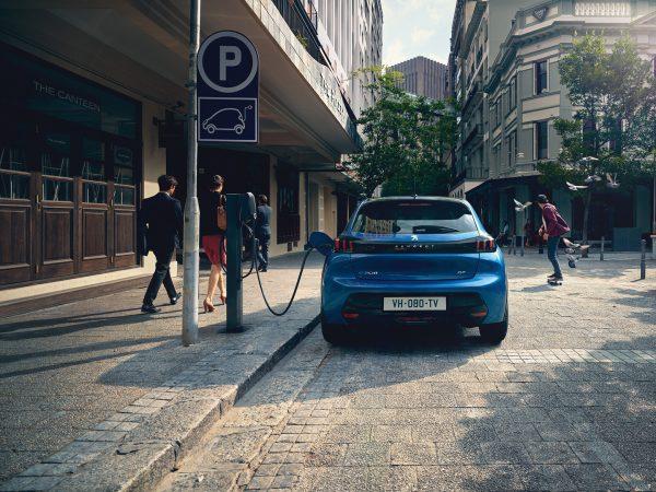 Arrière Peugeot e208