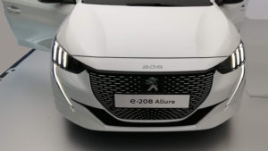Peugeot 208 électrique