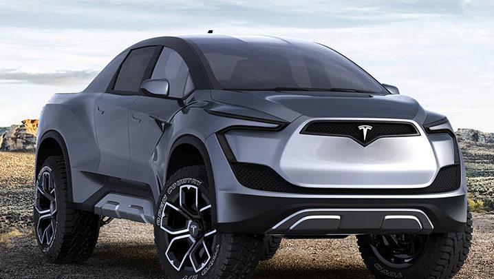Tesla Pickup électrique