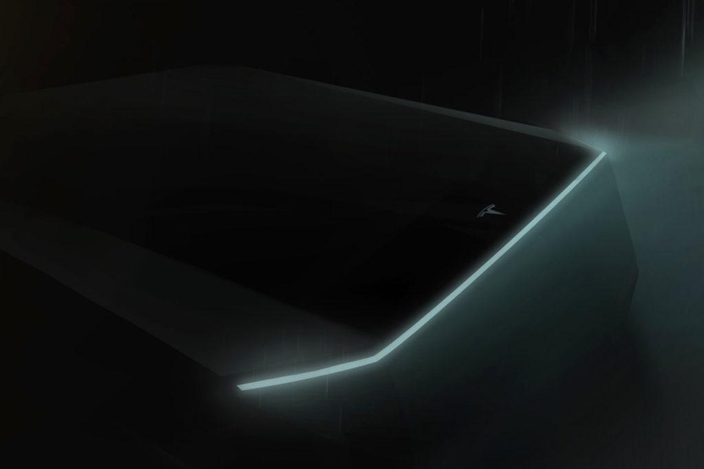 Teaser Tesla Pickup