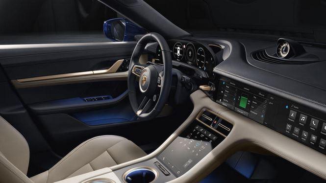 écran Porsche Taycan